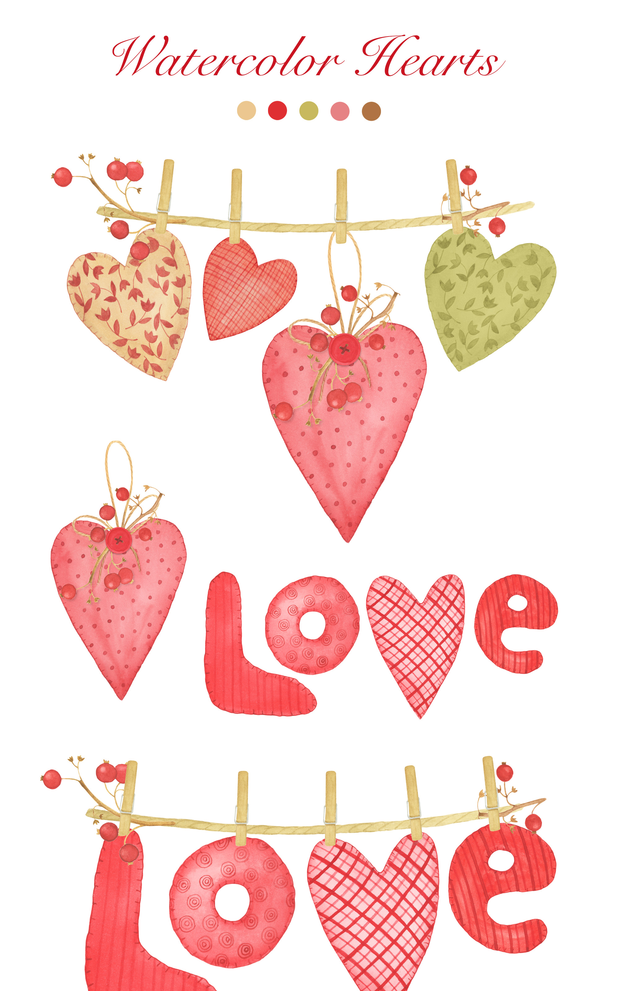 Valentine's Day Clipart example image 6