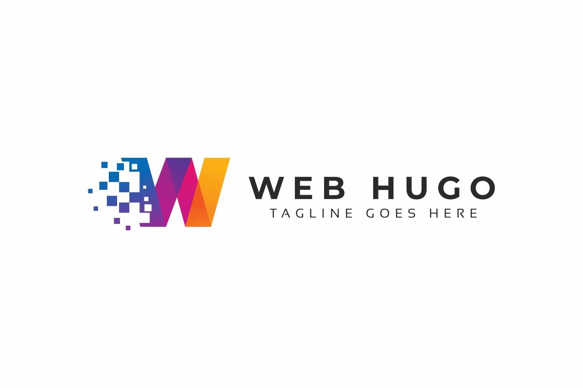 Web Hugo W Letter Logo example image 2