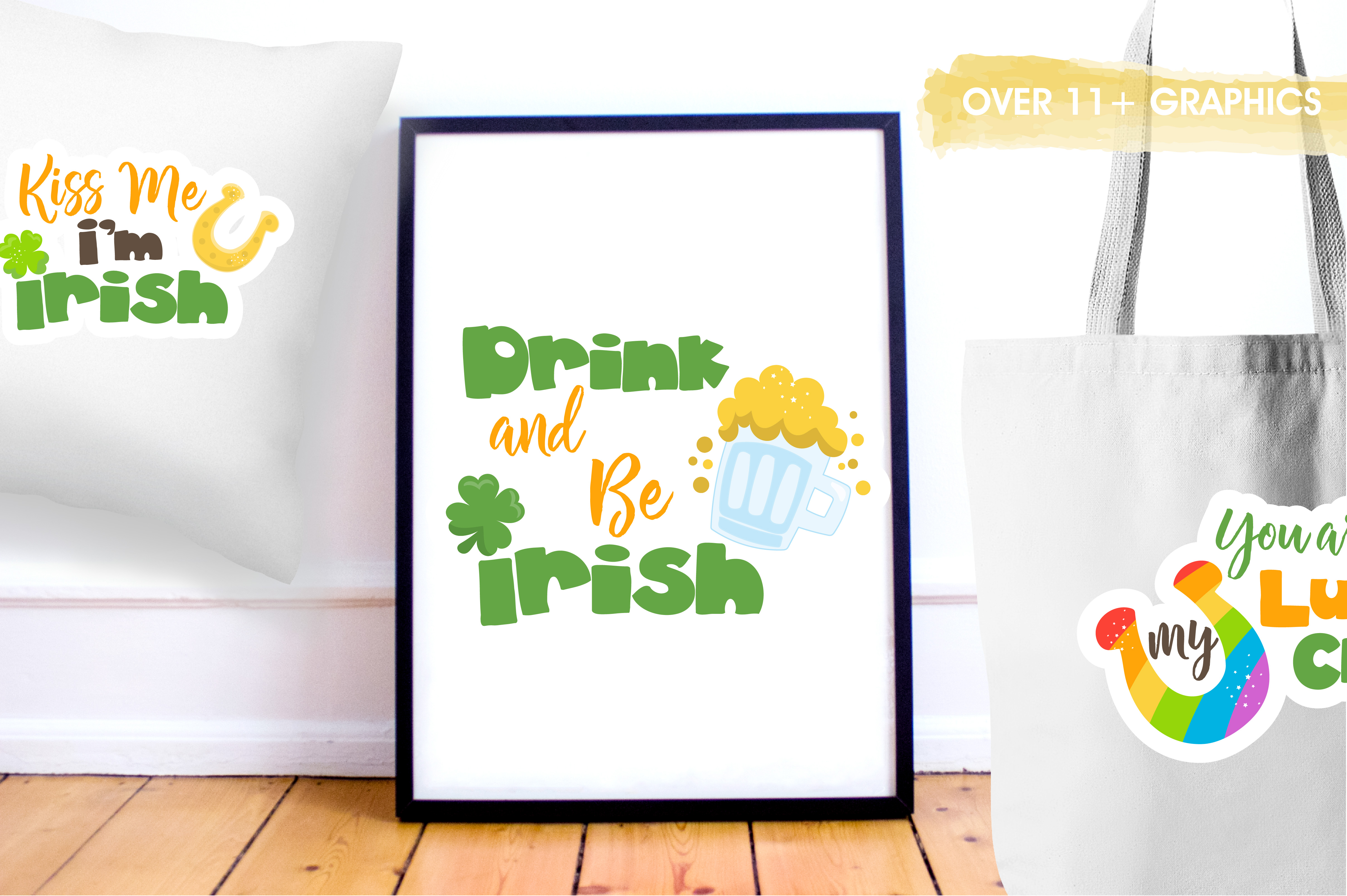 St-Patrick word art graphics and illustrations example image 5
