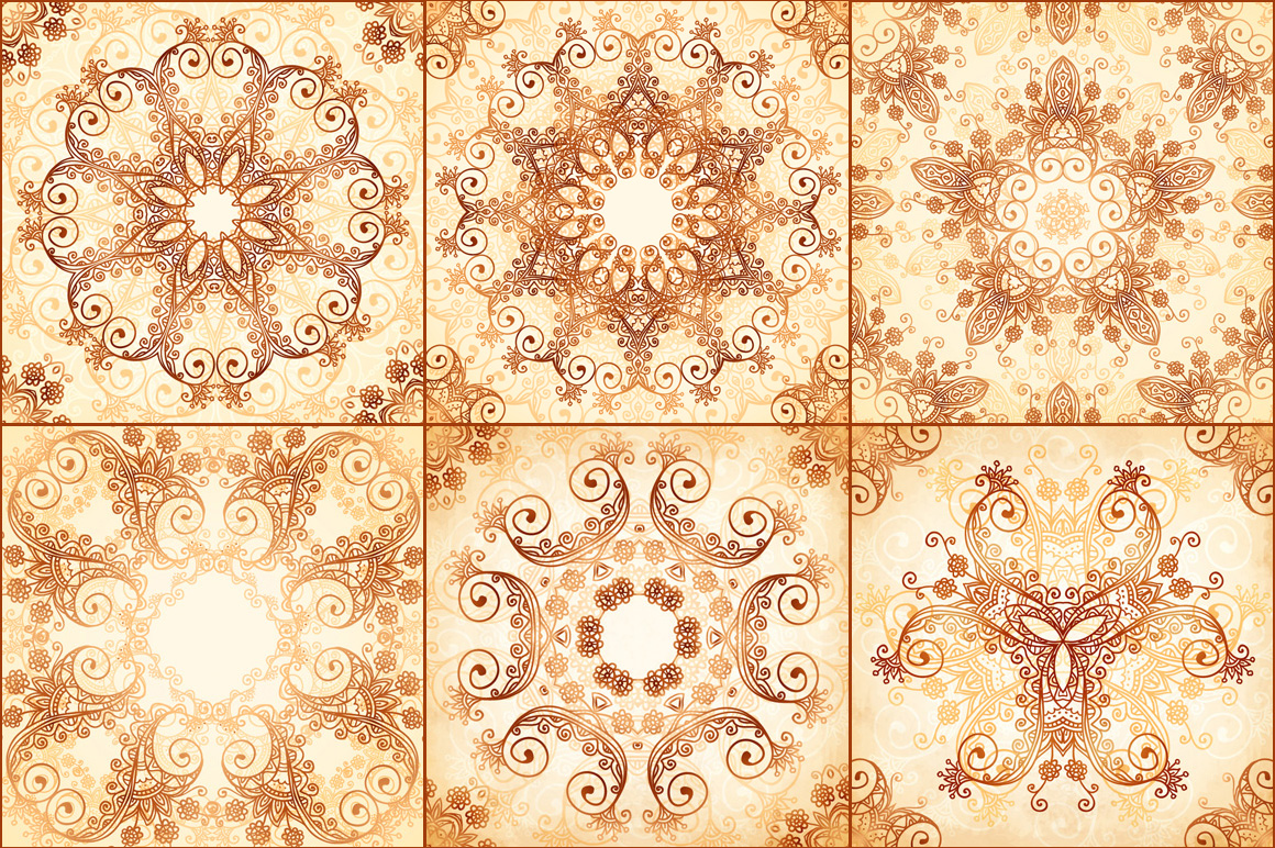 40 wonderful vintage vector patterns example image 3