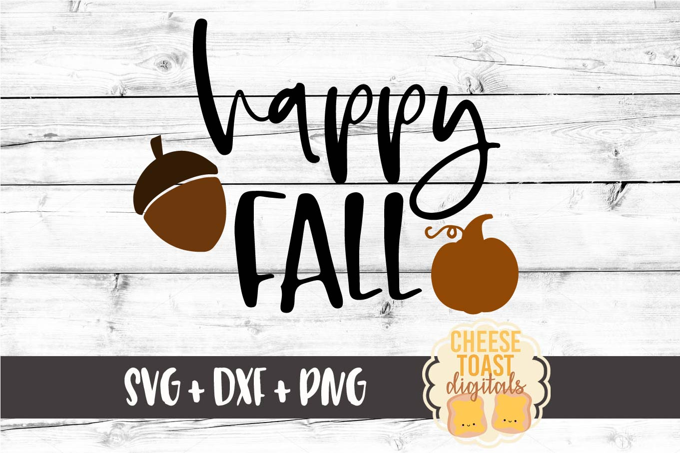 Happy Fall - Fall SVG File example image 2