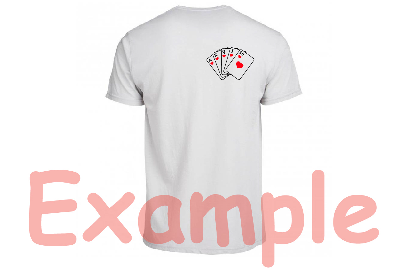 Poker Royal Flush Card Playing cards -741s example image 5