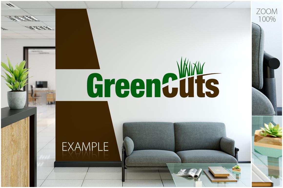 OFFICE Wall Mockup Bundle example image 7