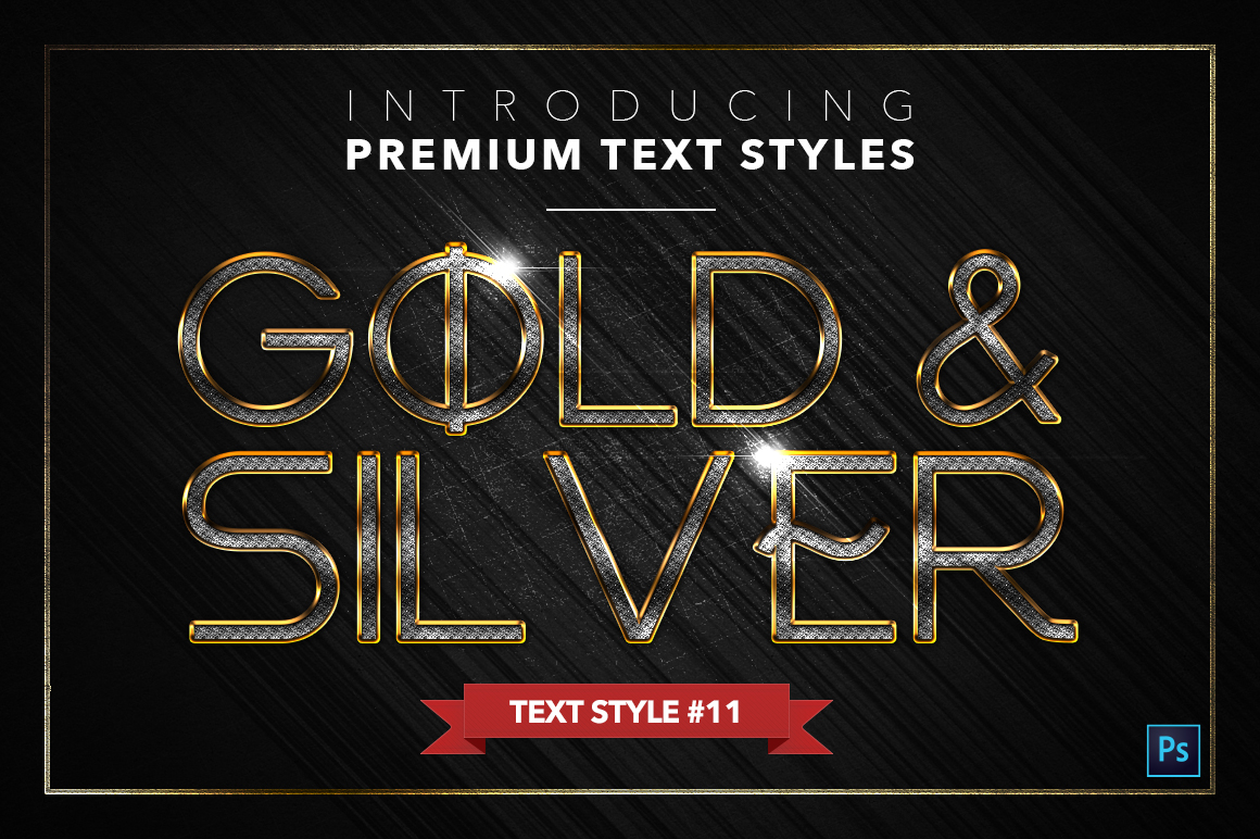 Gold & Silver #5 - 15 Text Styles example image 12