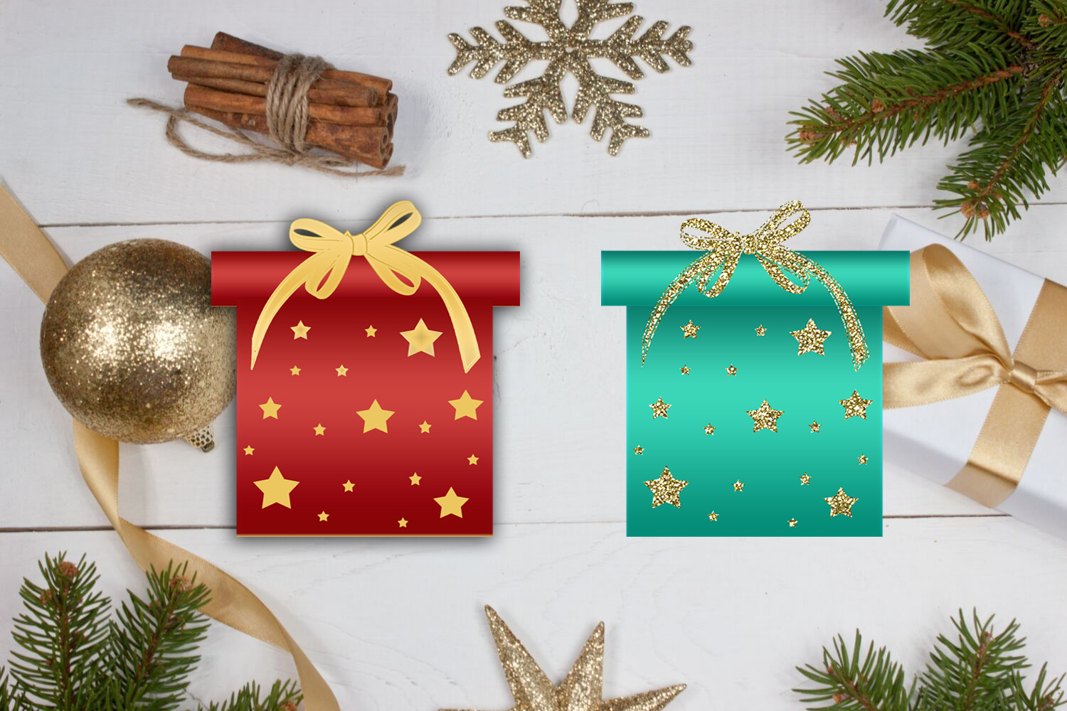 Cute Christmas Clipart- Cute Holiday Graphics Clipart example image 5