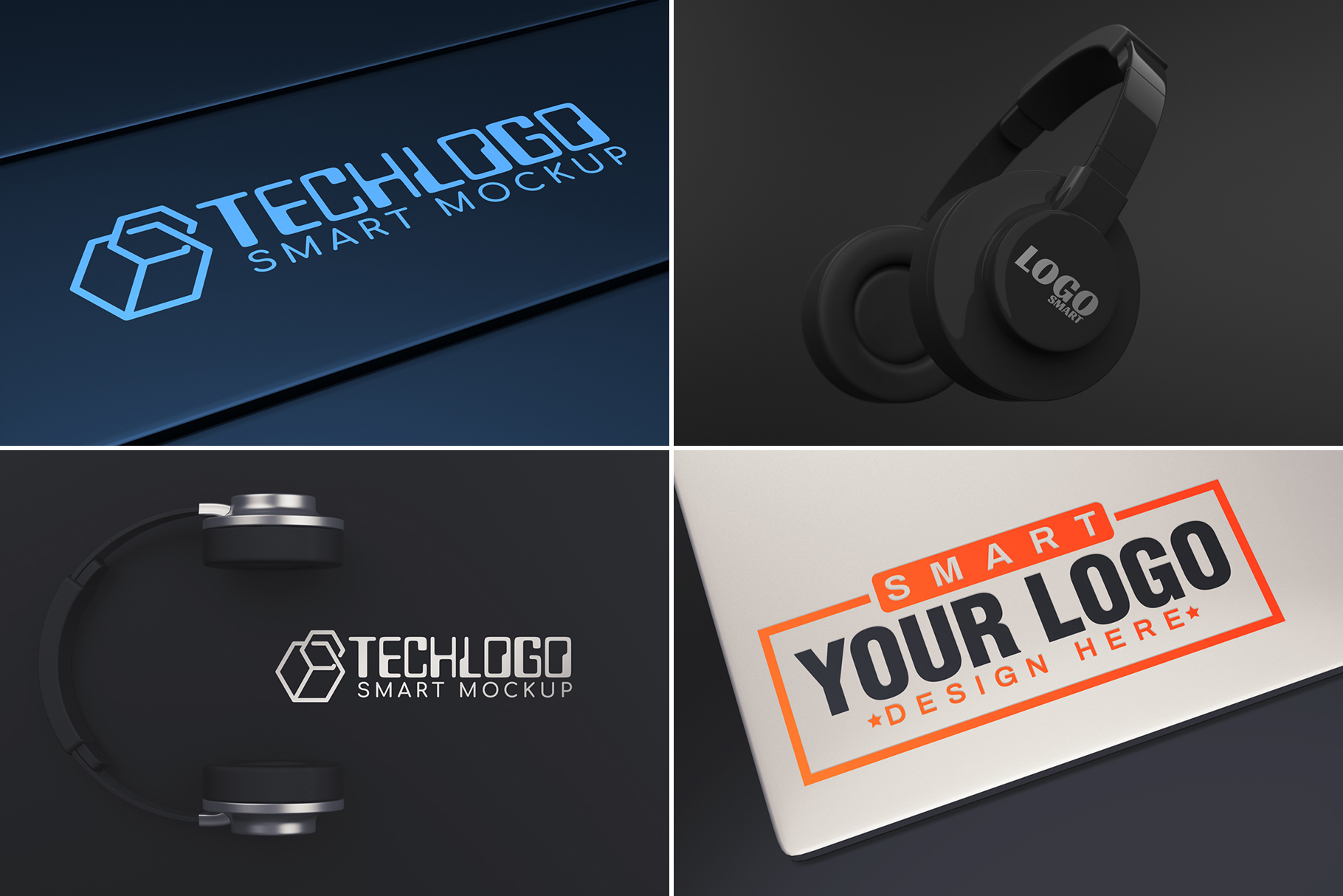 100 Logo Mockups Bundle Vol.3 example image 16