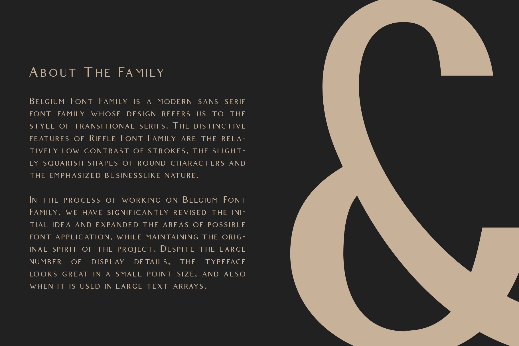 Belgium Font Family example image 2