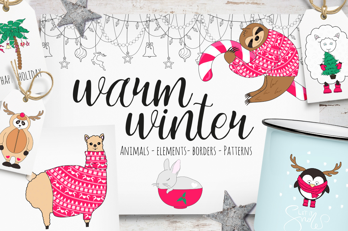 Warm winter collection example image 1