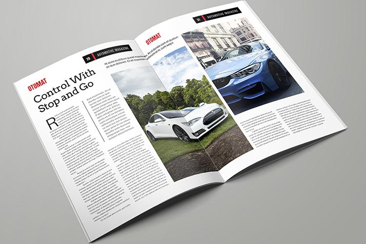 Automotive Magazine Template - Otomat example image 11