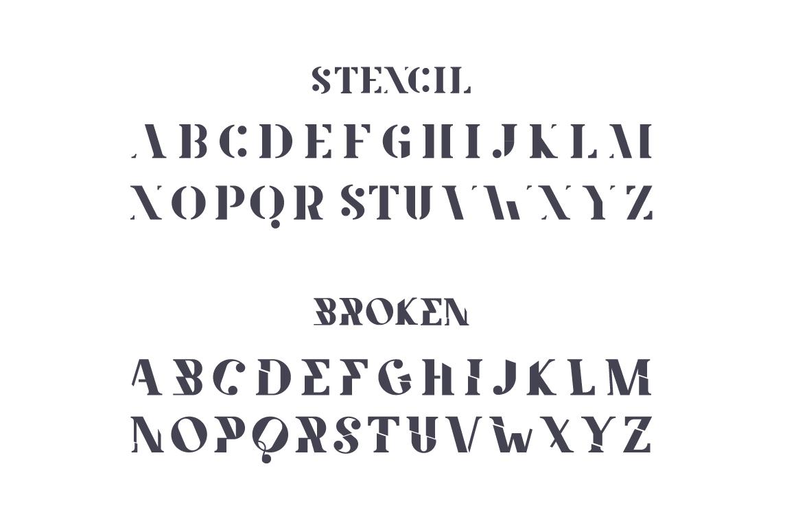 Amphi Typeface example image 4