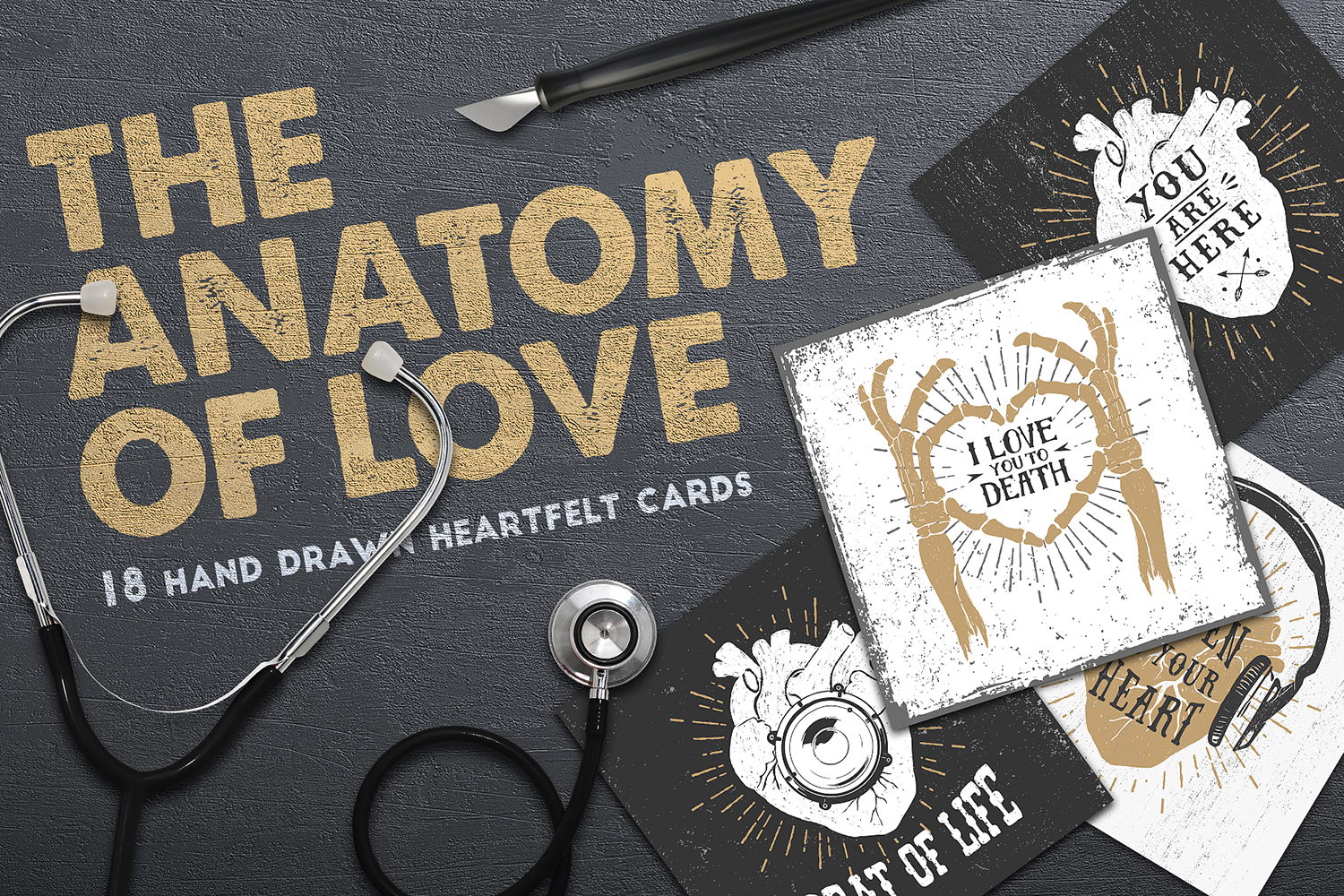Anatomy of Love (Collection of Cards + Bonus) example image 1