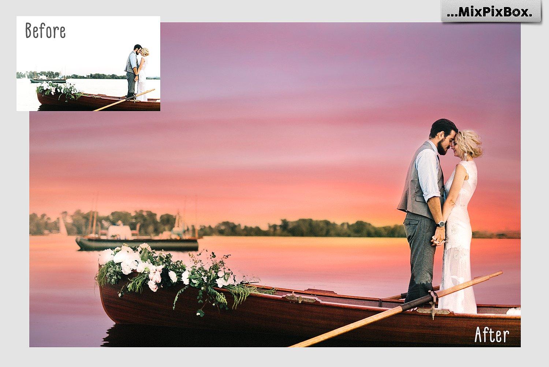 Sunset Sky Photo Overlays example image 4