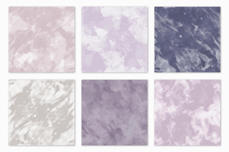 Pastel Painterly Textures - 15 Brushstroke Backgrounds example image 13