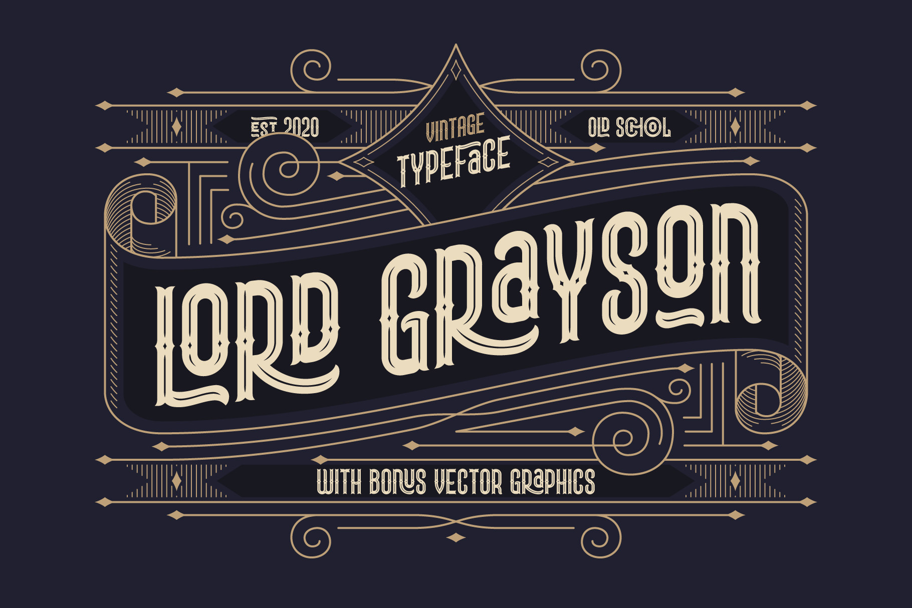 Grayson Font Pack. 55 OFF! example image 2