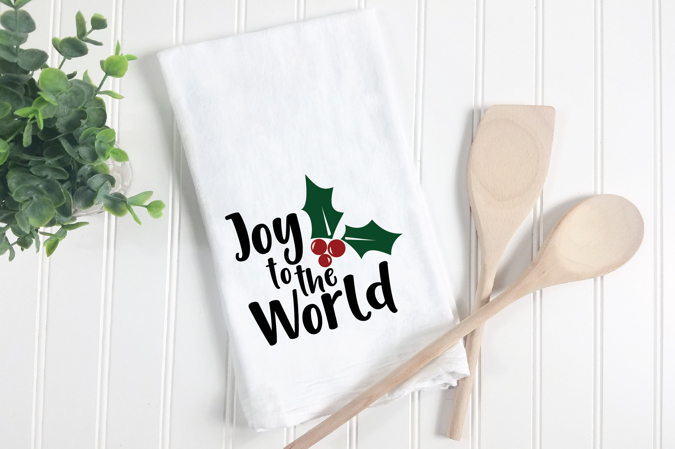 Joy to the World SVG Cut File - Christmas SVG example image 2