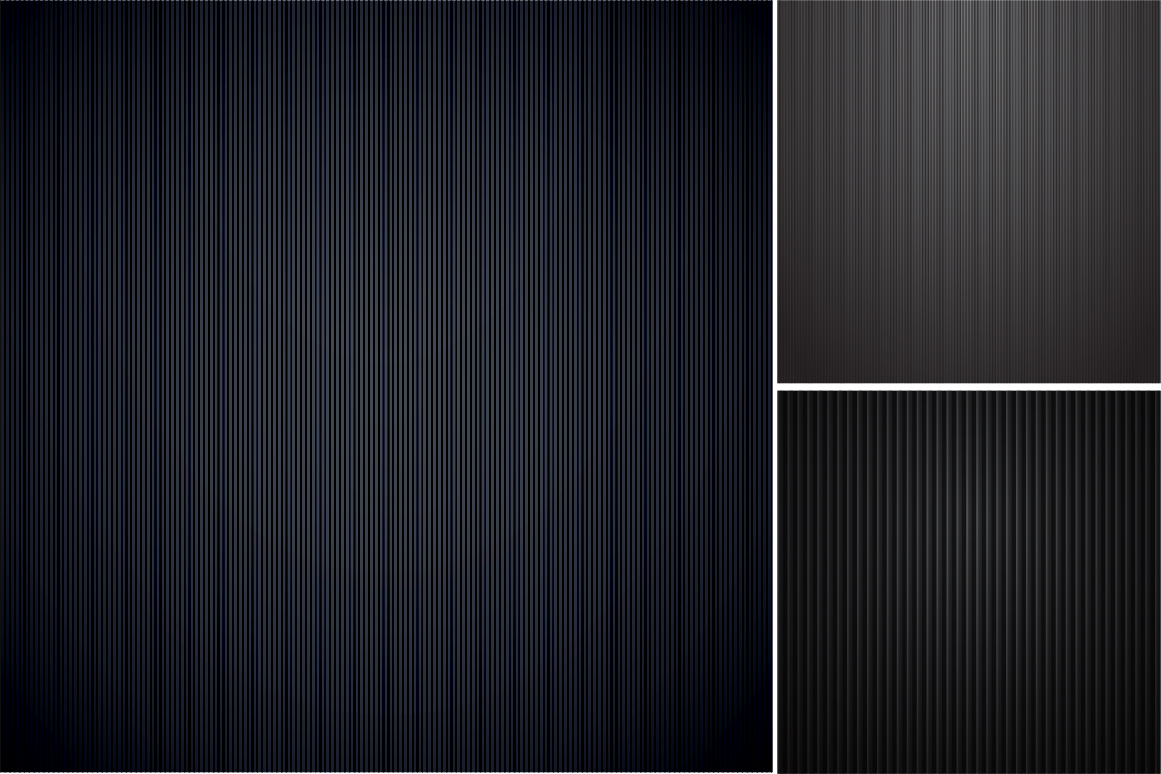 Colleciton of black striped textures example image 5