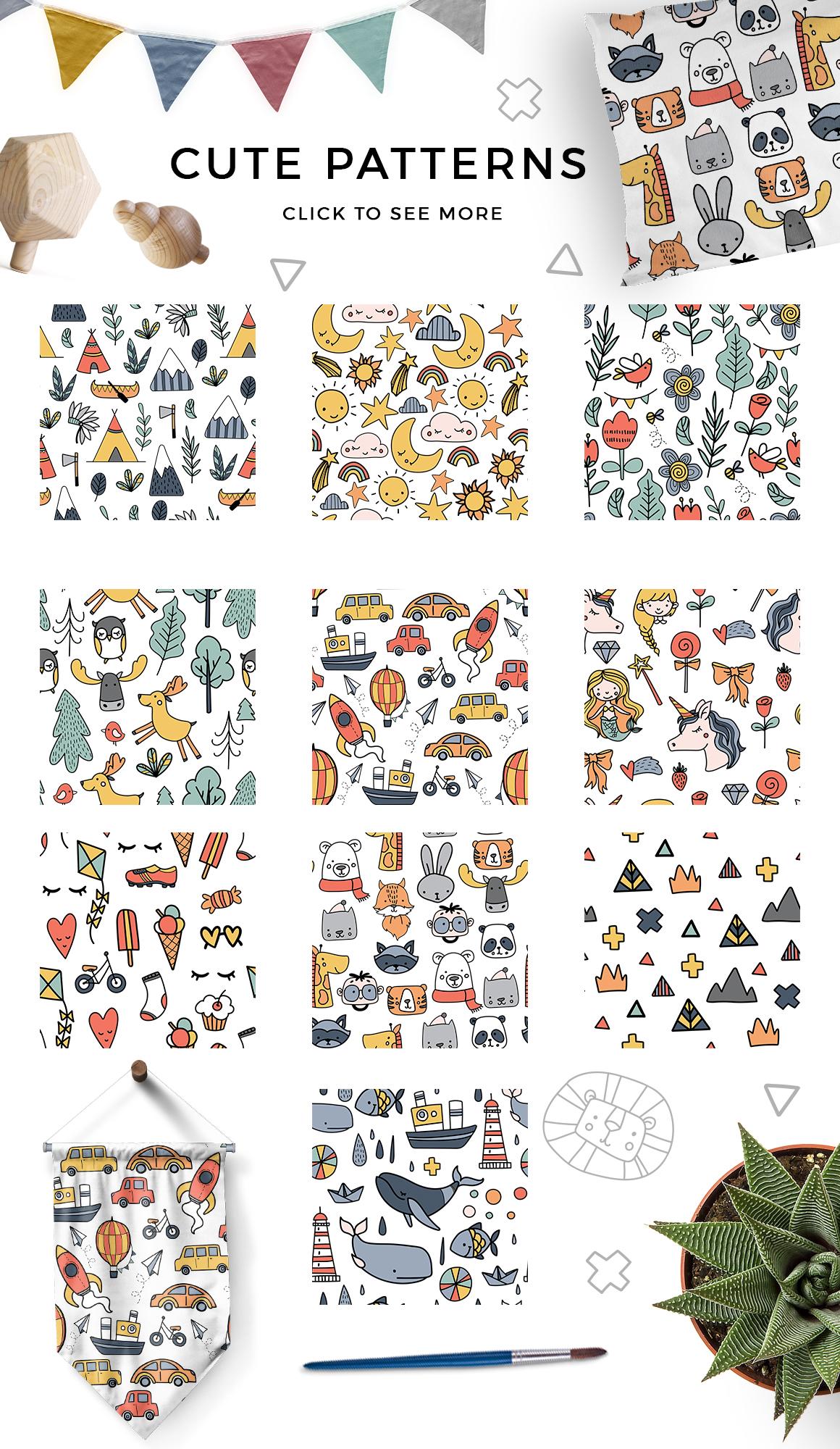 Kids room - scandinavian design pack example image 8