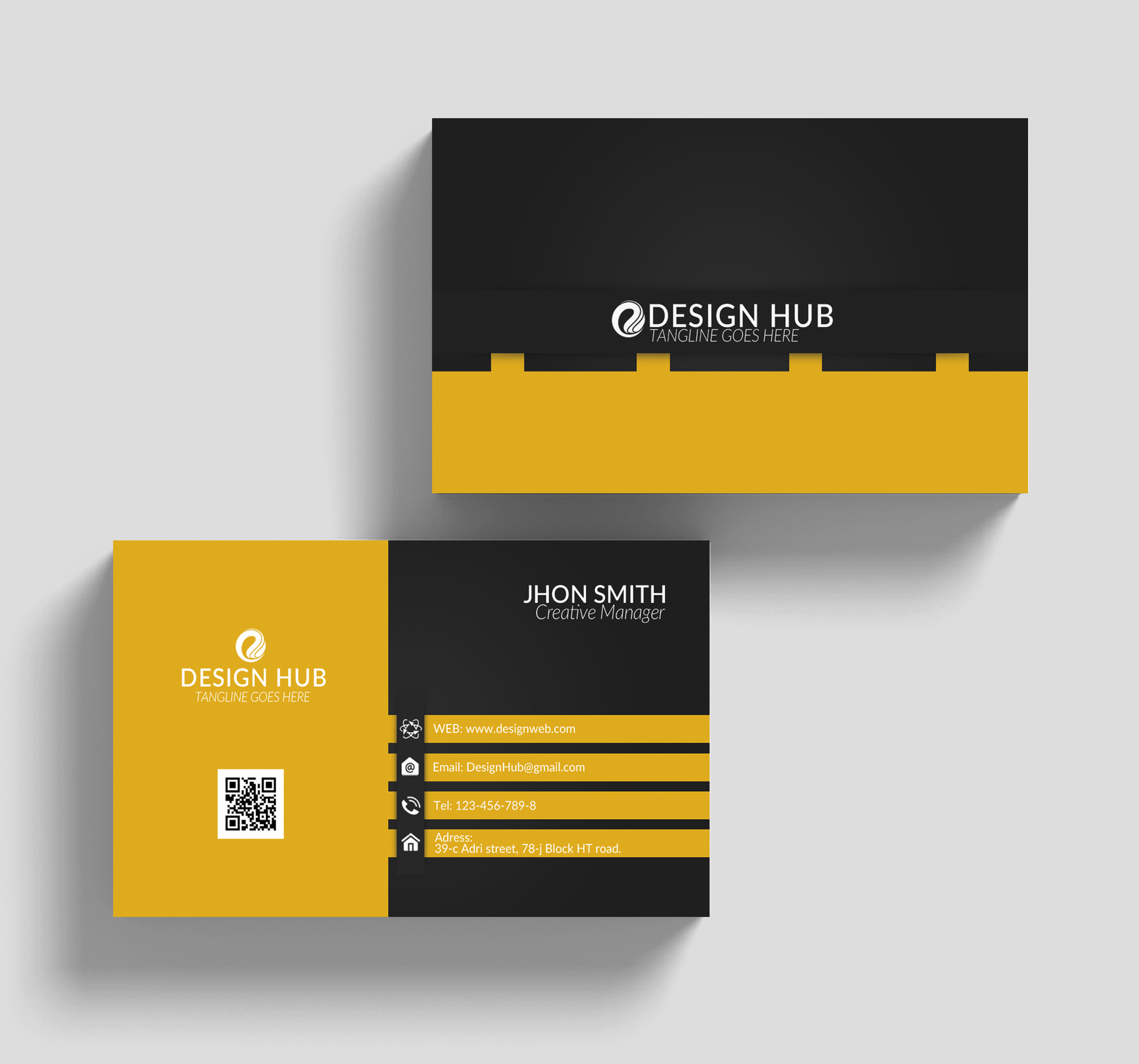 Corporate Business Cards example image 3