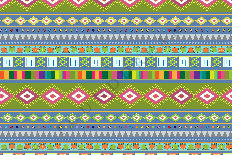 Tribal Digital Paper example image 3