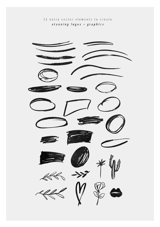 C'est La Vie   Font + Extras example image 10