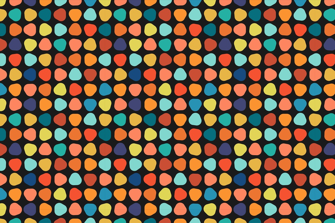 Colorful seamless patterns. example image 12