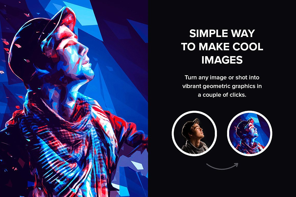 Color Fusion Photoshop Actions example image 2