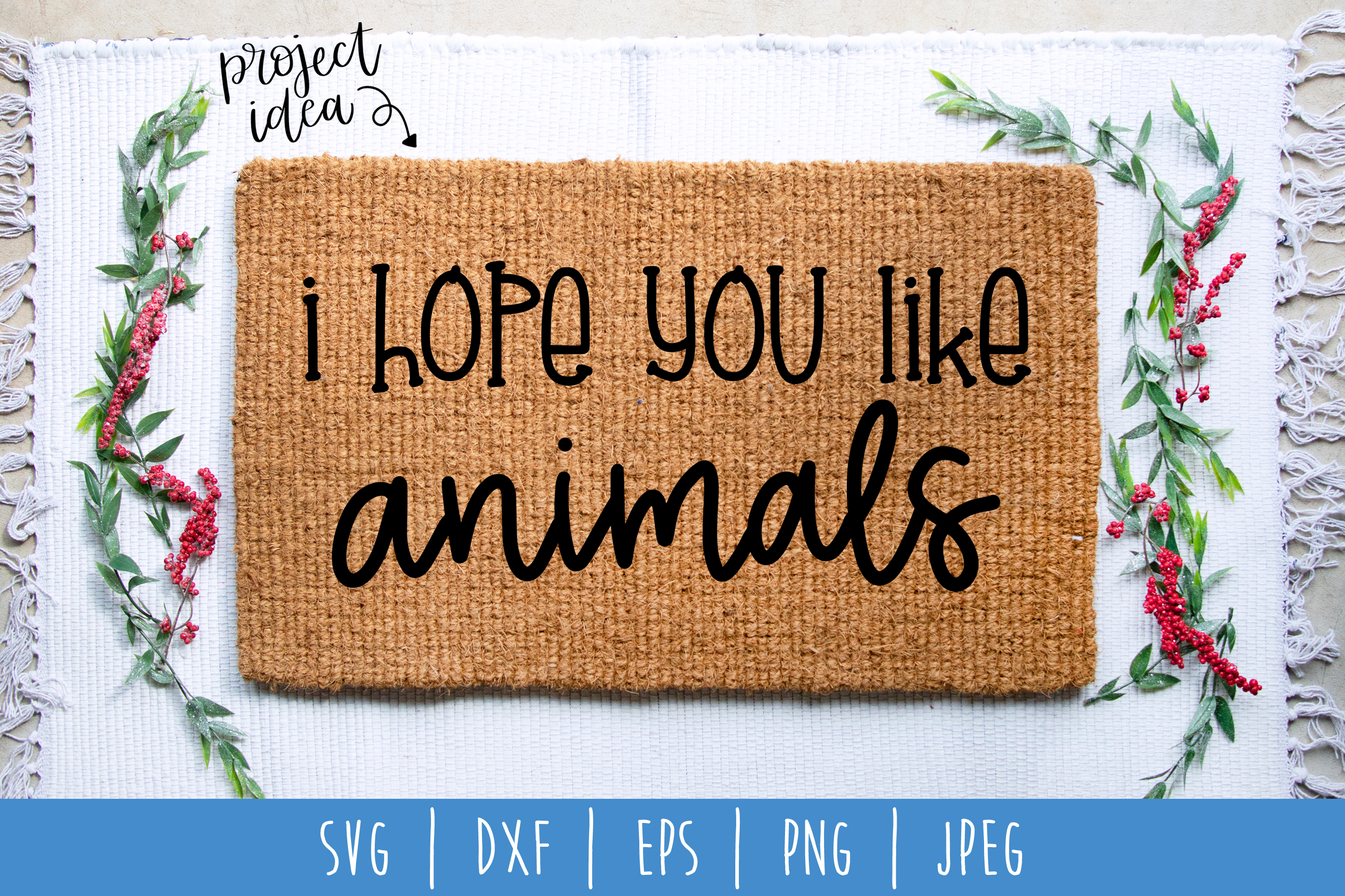 Doormat Bundle Set of 8 - SVG example image 3