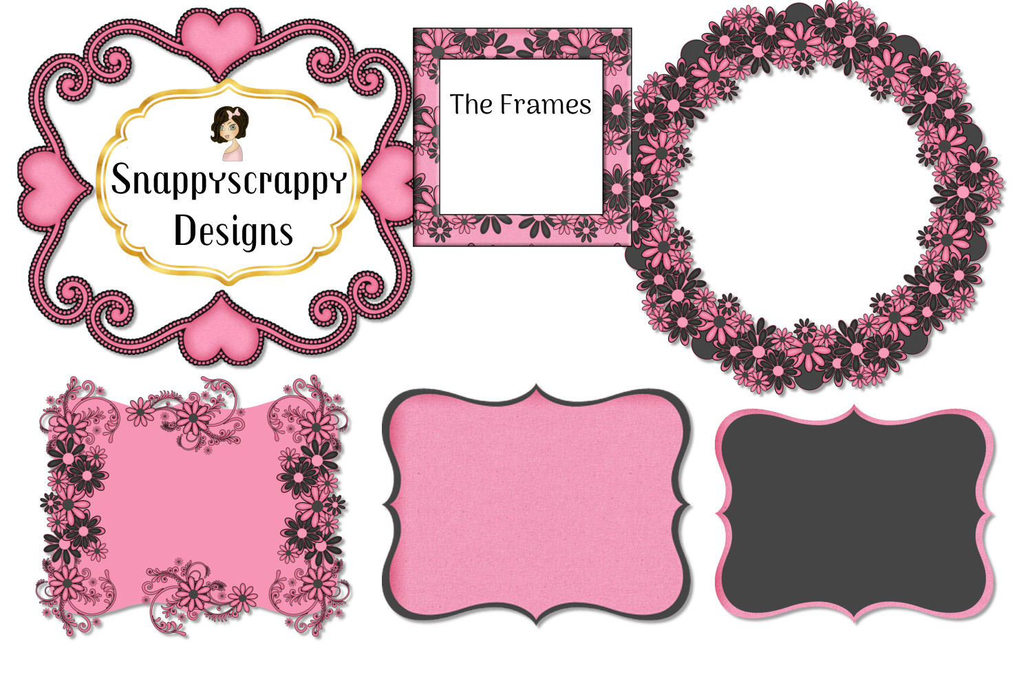 Black and Pink Kit example image 4