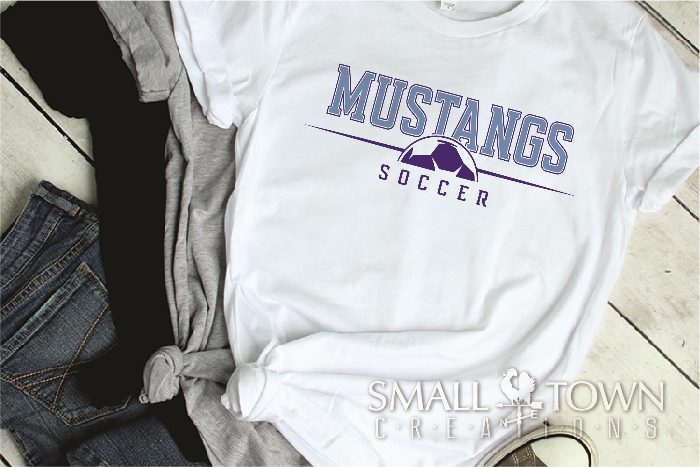 Mustang, Mustang Soccer Team, Sport, PRINT, CUT & DESIGN example image 2
