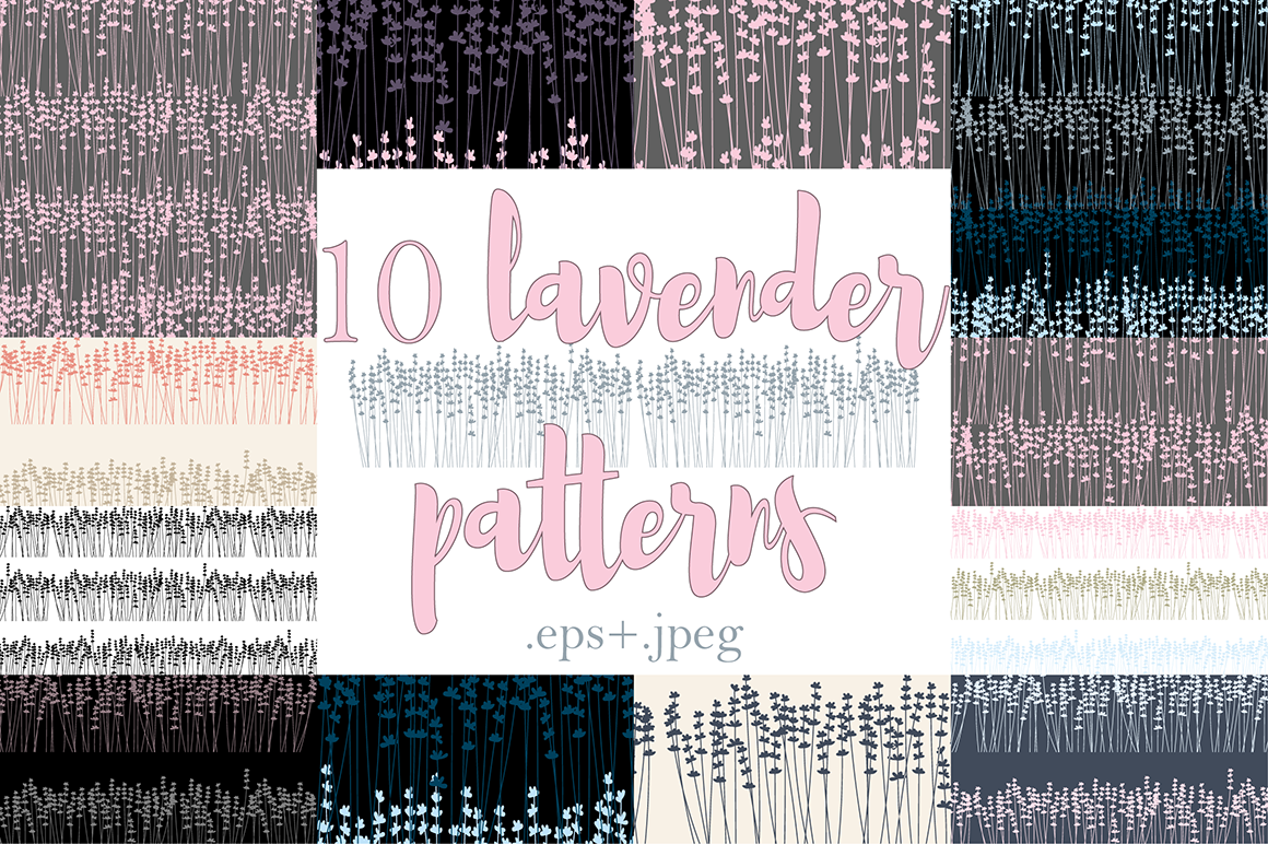 10 Lavender Patterns example image 9