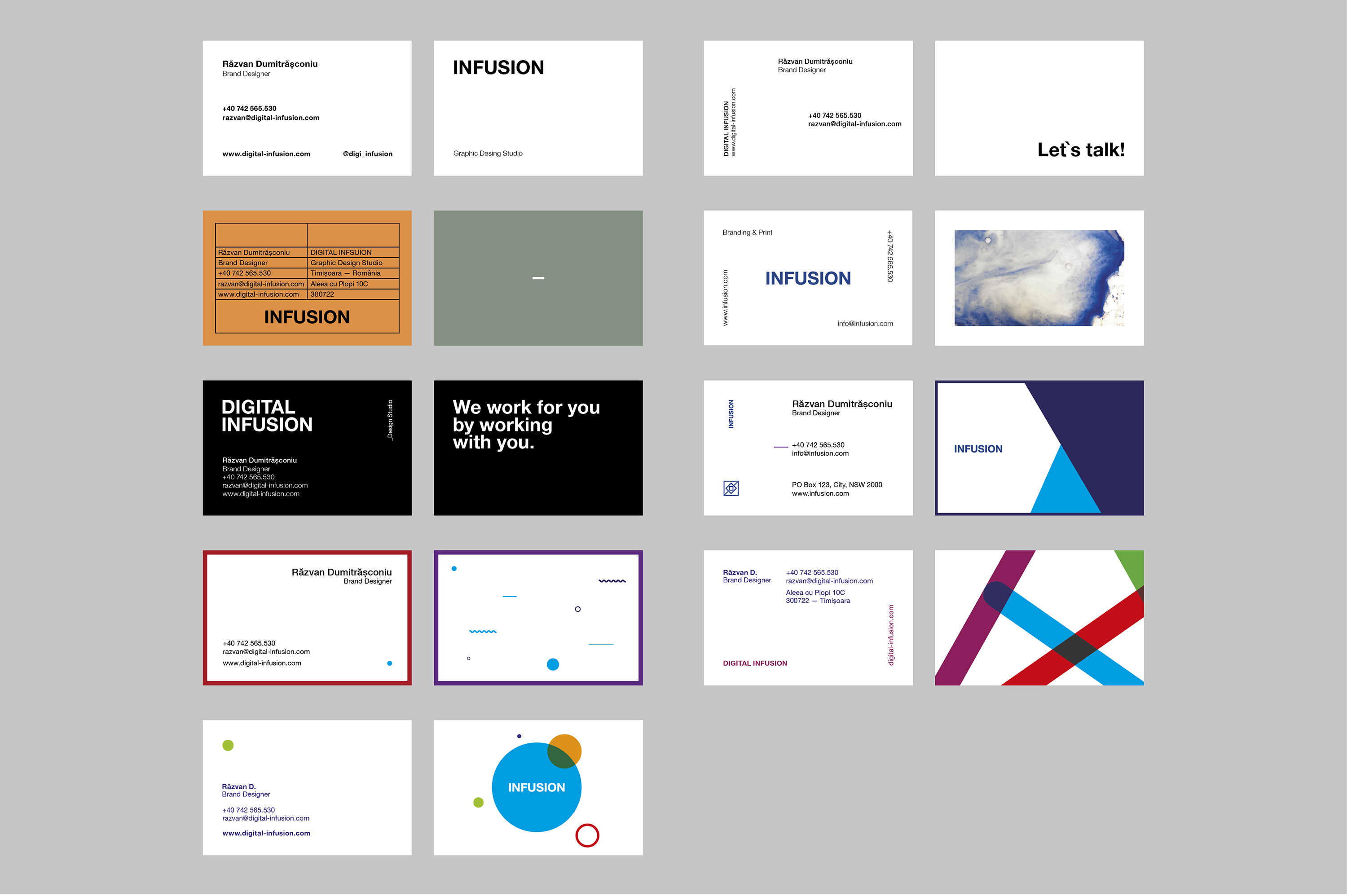 Clean & Modern Business Cards example image 1