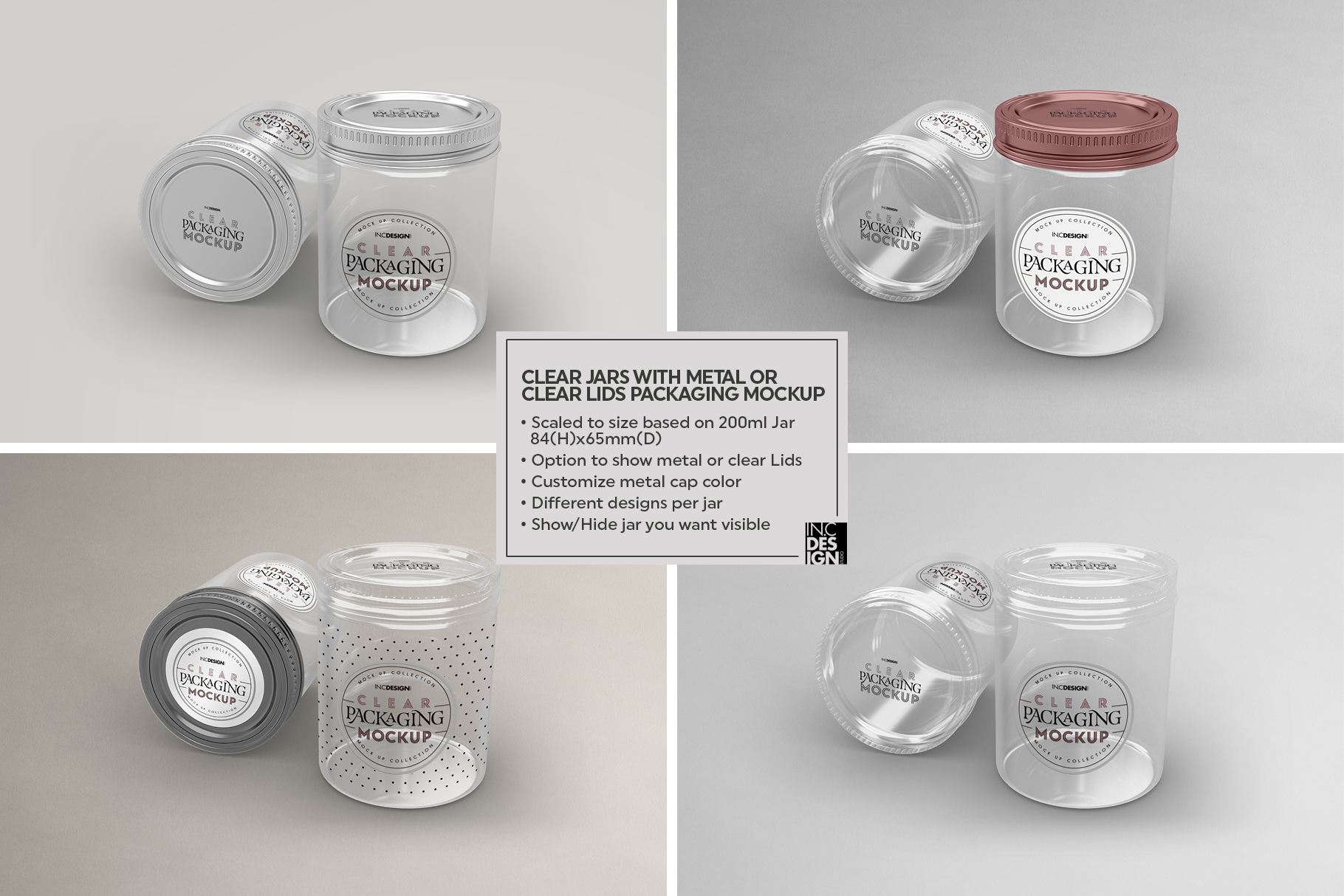VOL.2 Clear Packaging Mockup Collection example image 15
