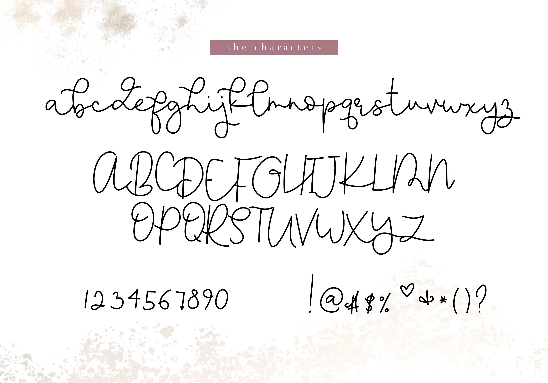 Apple Pie - A Handwritten Script Font example image 7