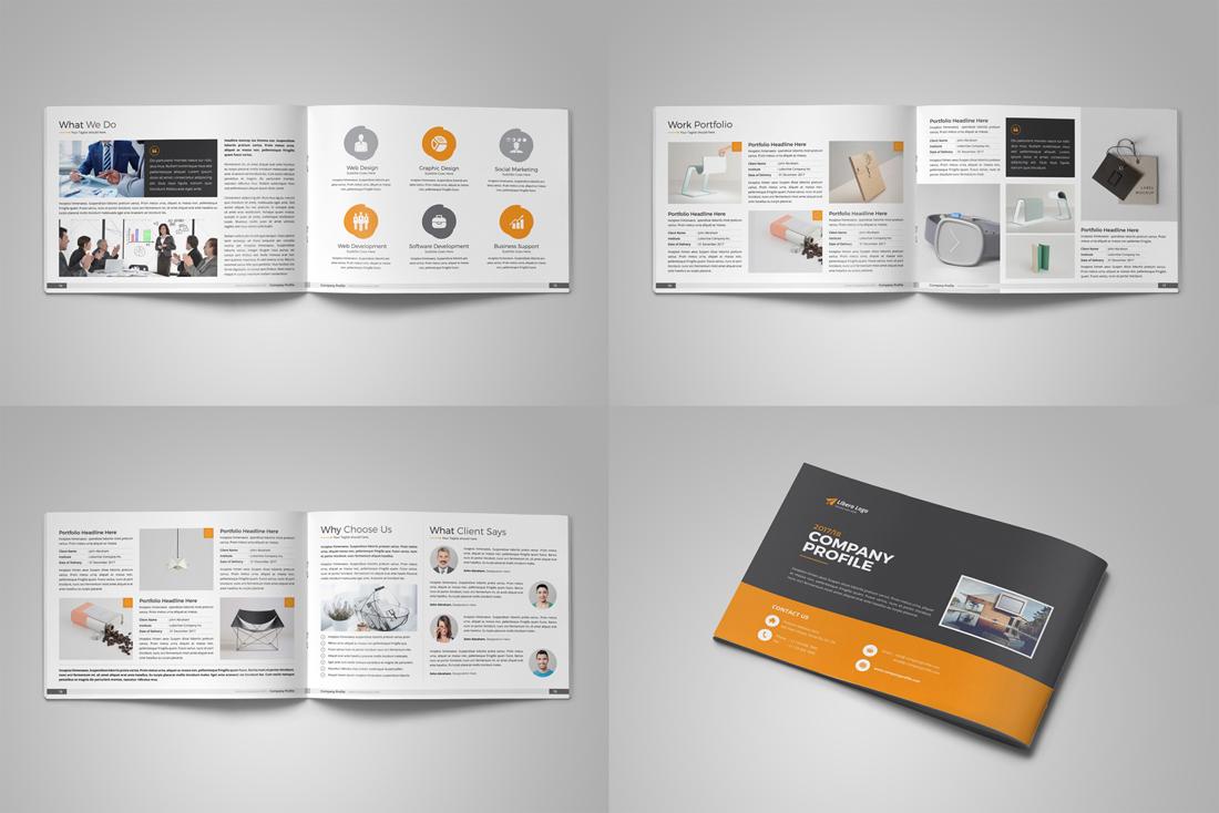 Company Profile Bundle example image 11