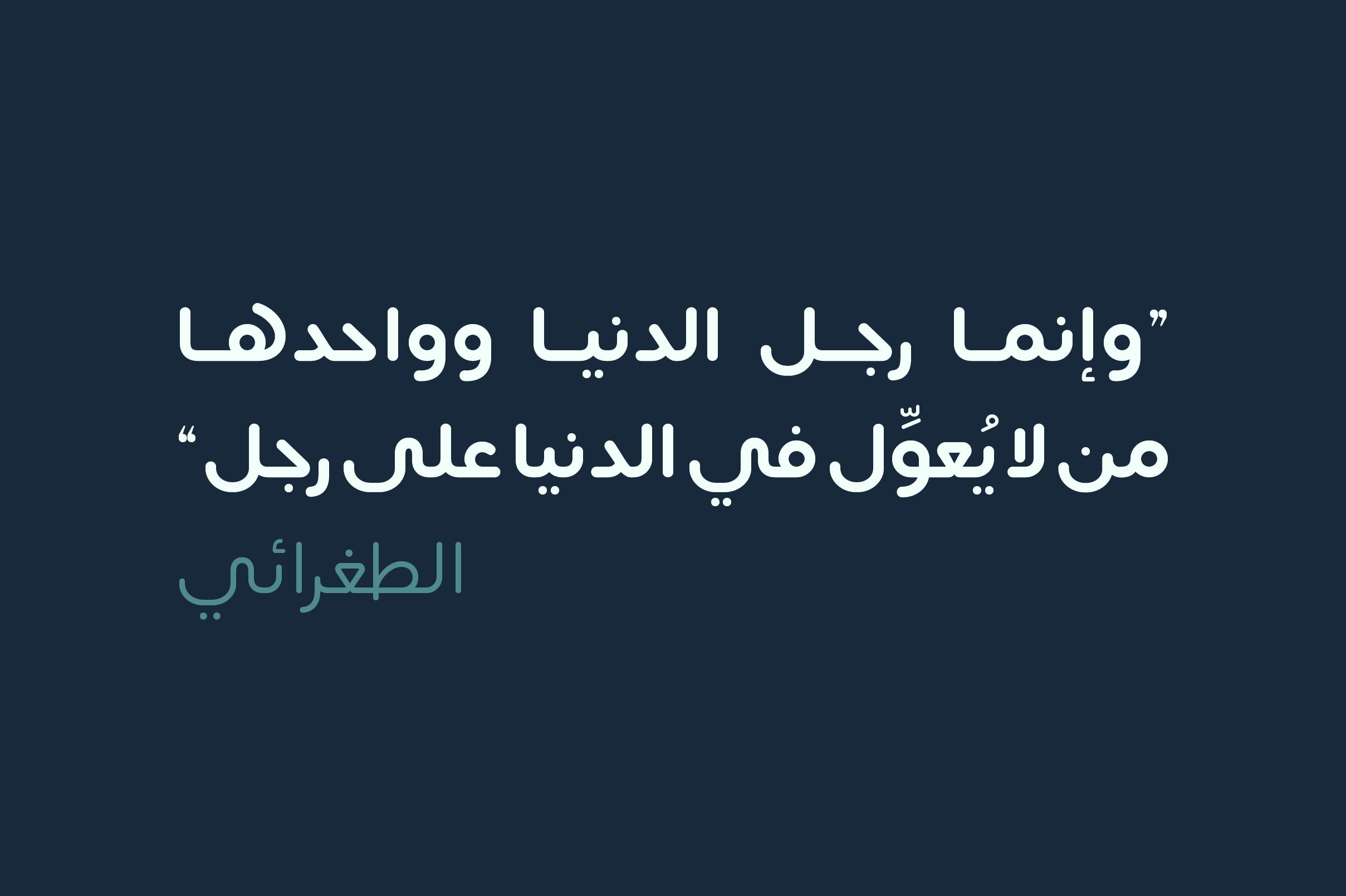 Lafeef - Arabic Typeface example image 22