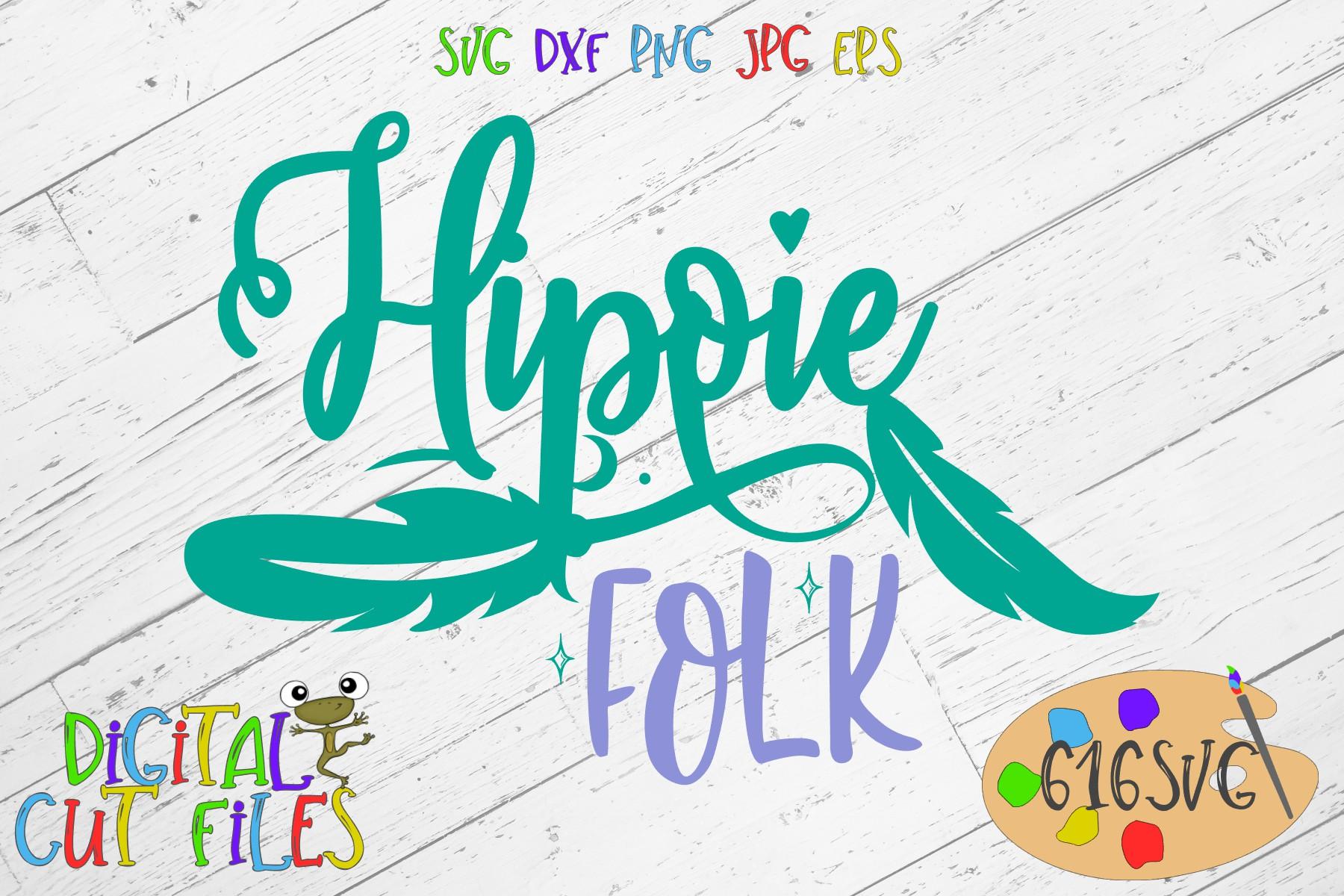 Hippie Folk SVG example image 2