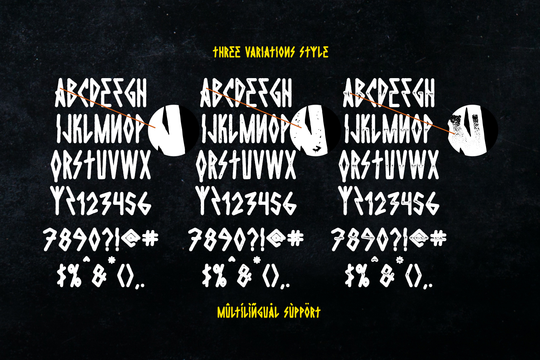 Die Hard Typeface example image 6