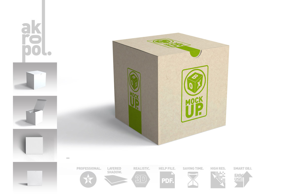 Package Box Mockups example image 7