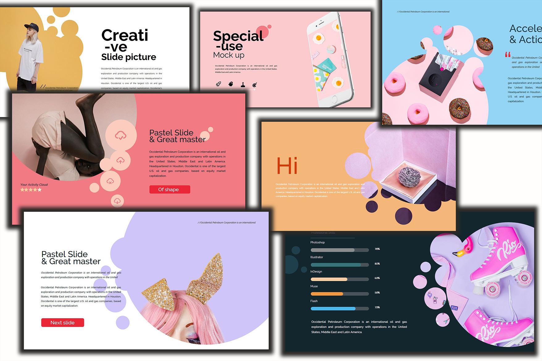 Velvety Fashion Google Slides Presentation example image 3