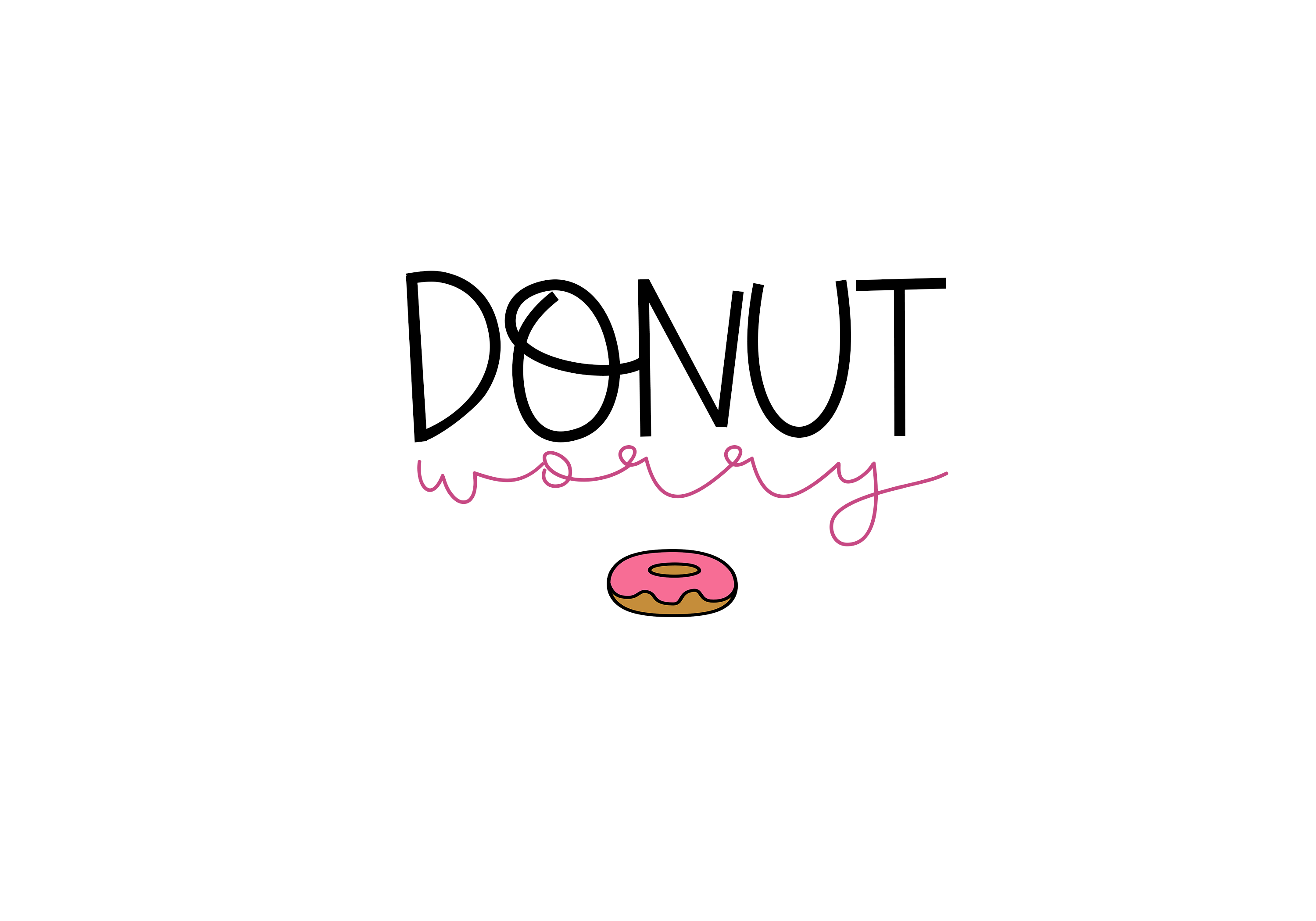 Sprinkled Donut - A Handwritten Font example image 2