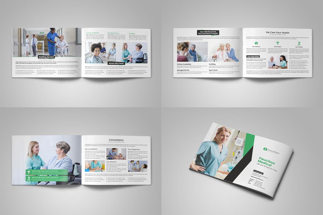 Medical HealthCare Brochure Bundle example image 7