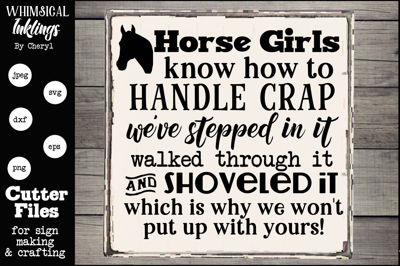 Horse Crap SVG example image 1