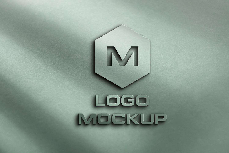 8 logo mockups, 3d wall mock up example image 1