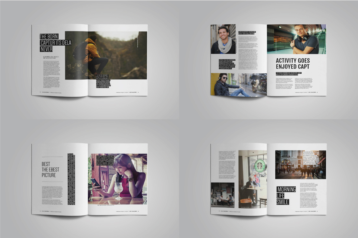A4 Good Magazines example image 3