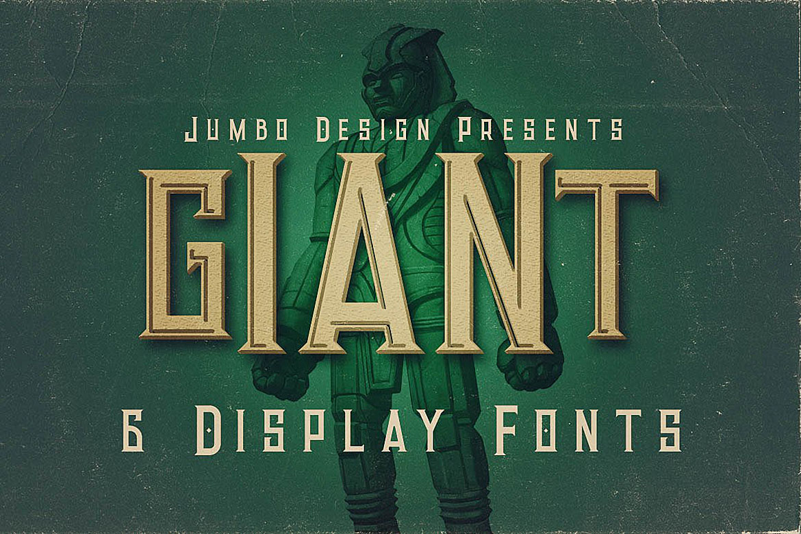 Giant - Vintage Style Font example image 1