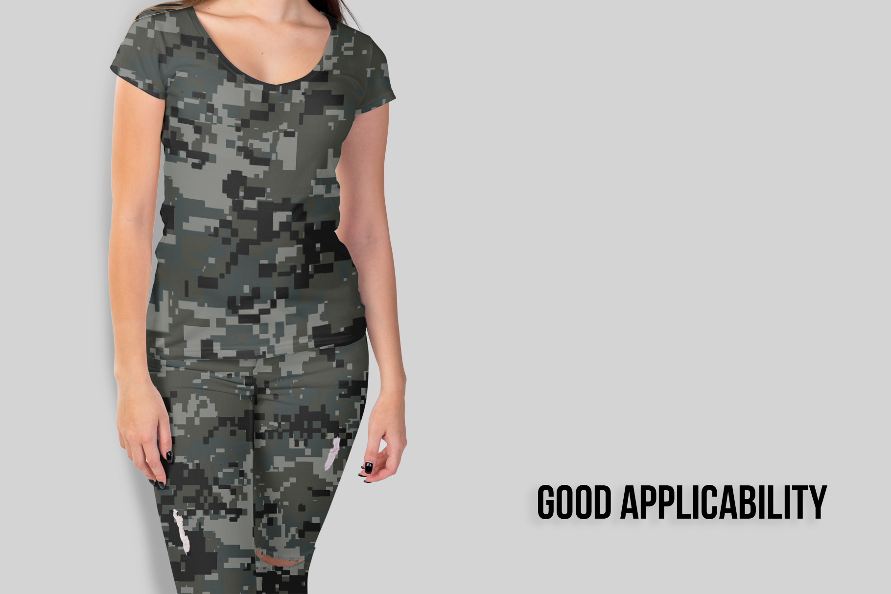 10 Pixel Camouflage Patterns example image 4