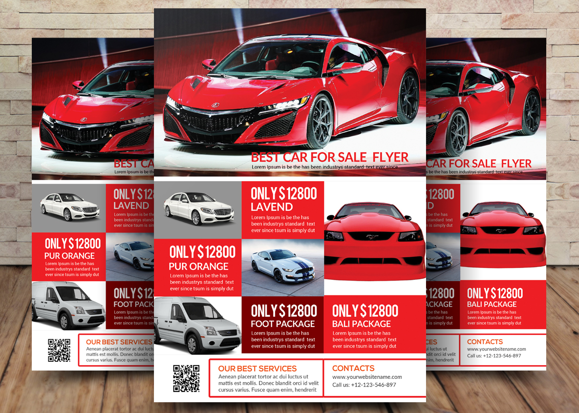 Car Bundle 7in1 Flyer example image 2