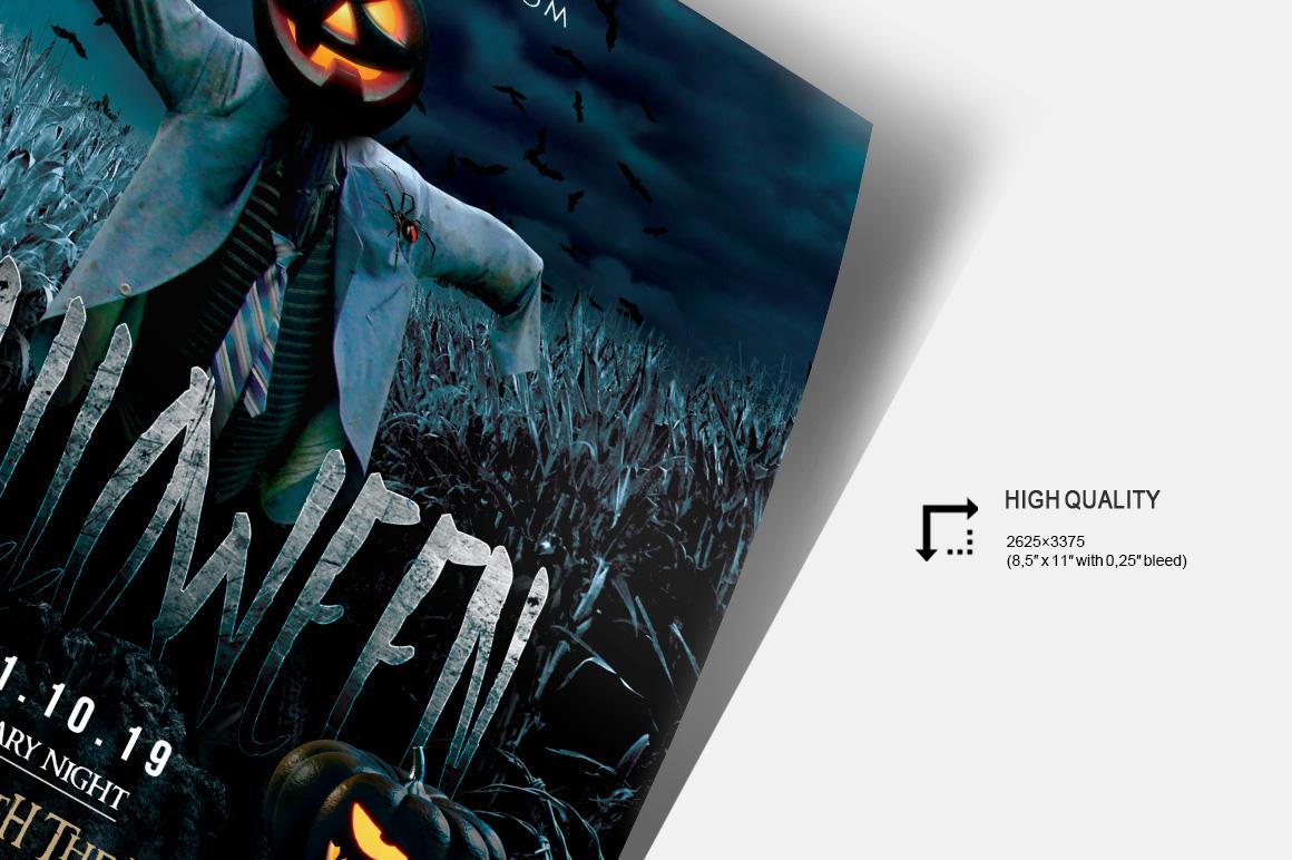 Halloween Night - PSD Flyer Template example image 3