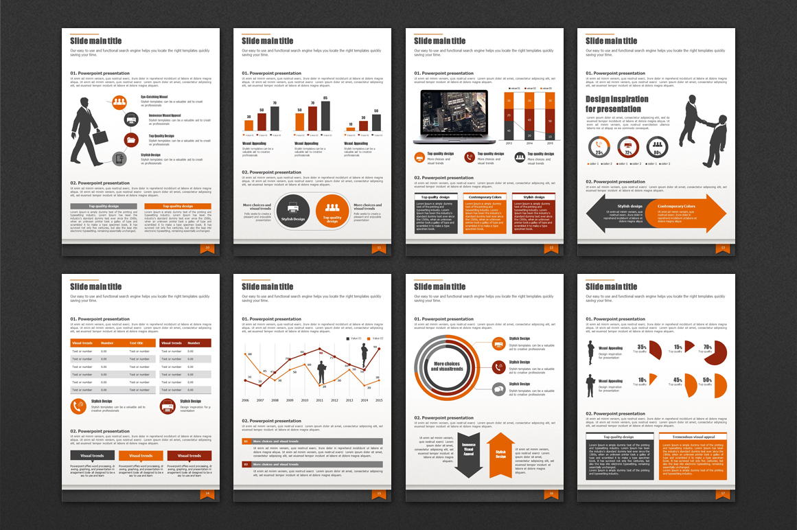 Modern Business Template Vertical example image 3