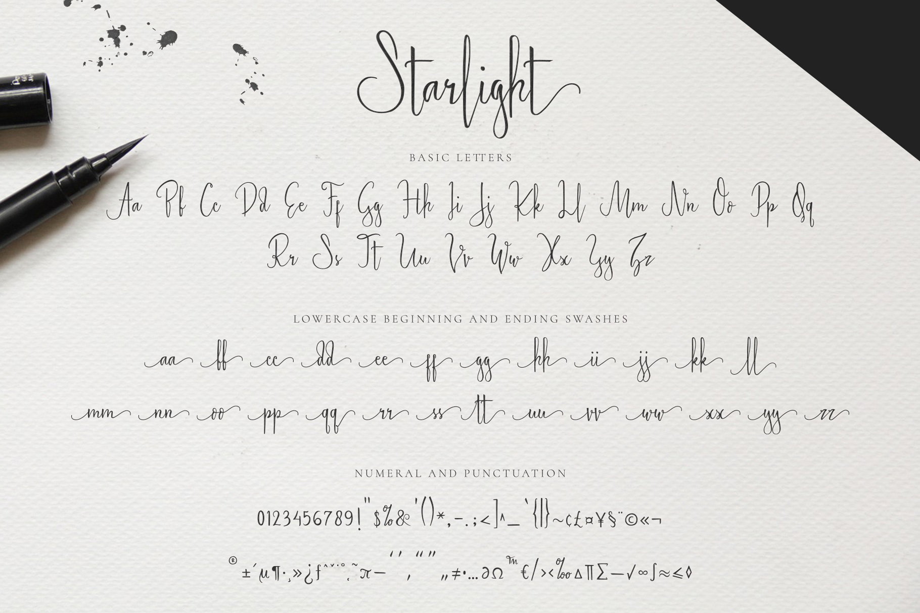 Starlight - Lovely Calligraphy Font example image 10